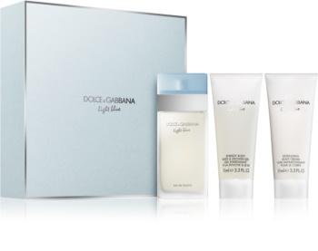 Dolce & Gabbana Light Blue darčeková sada VI.