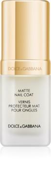Dolce & Gabbana The Top Lacquer vrchní gelový lak pro matný vzhled