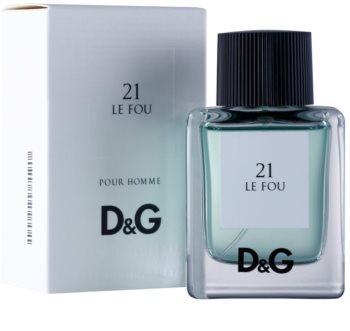 Dolce & Gabbana D&G Anthology Le Fou 21 Eau de Toilette for Men 50 ml