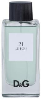 Dolce & Gabbana D&G Anthology Le Fou 21 toaletná voda tester pre mužov 100 ml