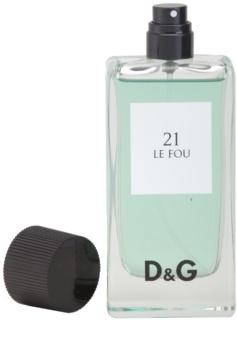 Dolce & Gabbana D&G Anthology Le Fou 21 eau de toilette férfiaknak 100 ml