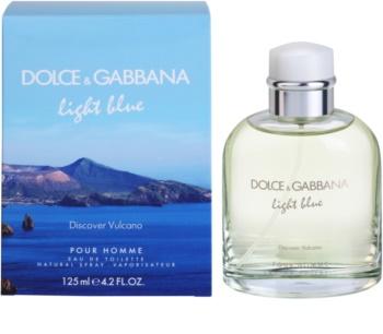 Dolce & Gabbana Light Blue Discover Vulcano Pour Homme Eau de Toilette Herren 125 ml