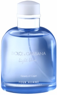 Dolce & Gabbana Light Blue Beauty of Capri eau de toilette férfiaknak 125 ml