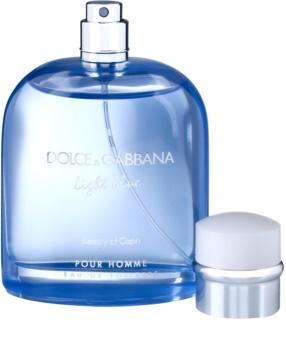 Dolce & Gabbana Light Blue Beauty of Capri eau de toilette férfiaknak 125 ml