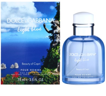 Dolce & Gabbana Light Blue Beauty of Capri Eau de Toilette for Men 75 ml