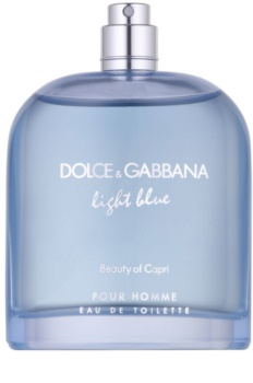 Dolce & Gabbana Light Blue Beauty of Capri toaletná voda tester pre mužov 125 ml