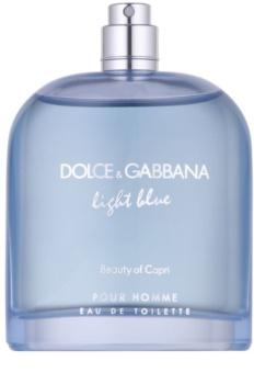 Dolce & Gabbana Light Blue Beauty of Capri woda toaletowa tester dla mężczyzn 125 ml