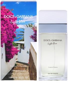 Dolce & Gabbana Light Blue Escape To Panarea eau de toilette nőknek 100 ml
