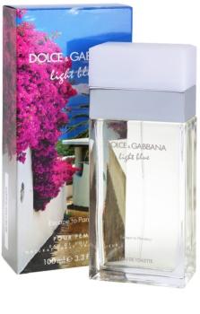 Dolce & Gabbana Light Blue Escape To Panarea eau de toilette pentru femei 100 ml