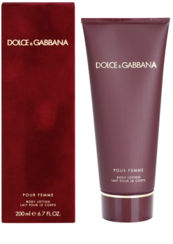 Dolce & Gabbana Pour Femme (2012) losjon za telo za ženske 200 ml