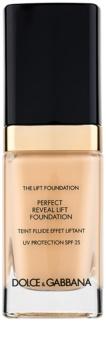 Dolce & Gabbana The Lift Foundation make-up liftinges hatással SPF 25