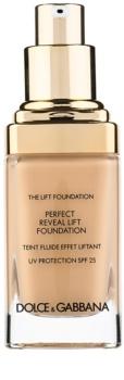 Dolce & Gabbana The Lift Foundation make-up s liftingovým účinkom SPF 25