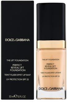 Dolce & Gabbana The Foundation The Lift Foundation тональний крем з ліфтінговим ефектом SPF 25