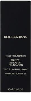Dolce & Gabbana The Foundation The Lift Foundation make-up liftinges hatással SPF 25