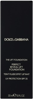 Dolce & Gabbana The Lift Foundation Fond de ten cu efect de lifting SPF 25