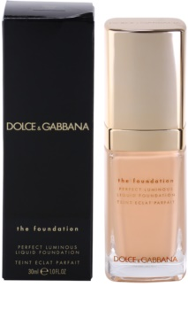 Dolce & Gabbana The Foundation Perfect Luminous Liquid Foundation rozjasňujúci tekutý make-up