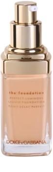 Dolce & Gabbana The Foundation Perfect Luminous Liquid Foundation Ausstrahlendes flüssiges Make Up