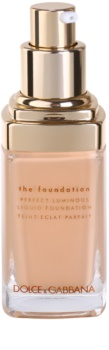 Dolce & Gabbana The Foundation Perfect Luminous Liquid Foundation base líquida iluminadora