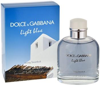 Dolce & Gabbana Light Blue Pour Homme Living Stromboli woda toaletowa dla mężczyzn 125 ml