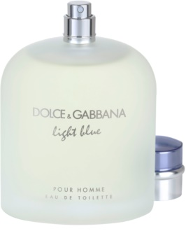 Dolce & Gabbana Light Blue Pour Homme Eau de Toilette para homens 200 ml