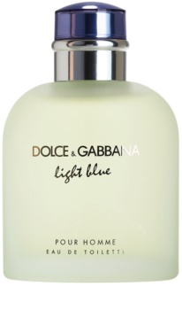 Dolce & Gabbana Light Blue Pour Homme toaletní voda tester pro muže 125 ml
