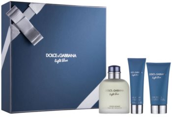 Dolce & Gabbana Light Blue Pour Homme set cadou I.