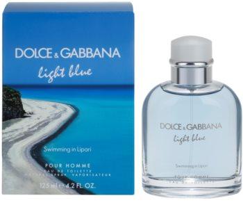 Dolce & Gabbana Light Blue Swimming in Lipari woda toaletowa dla mężczyzn 125 ml