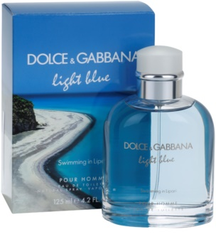 Dolce & Gabbana Light Blue Swimming in Lipari eau de toilette férfiaknak 125 ml