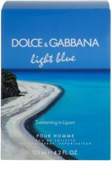 Dolce & Gabbana Light Blue Swimming in Lipari Eau de Toilette für Herren 125 ml