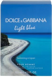 Dolce & Gabbana Light Blue Swimming in Lipari eau de toilette per uomo 125 ml