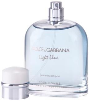 Dolce & Gabbana Light Blue Swimming in Lipari toaletná voda tester pre mužov 125 ml