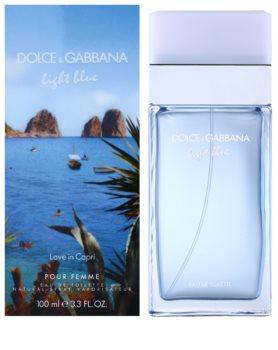 39bf2e1ba Dolce & Gabbana Light Blue Love in Capri, toaletní voda pro ženy 100 ...