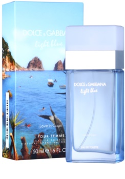 Dolce & Gabbana Light Blue Love in Capri toaletní voda pro ženy 50 ml