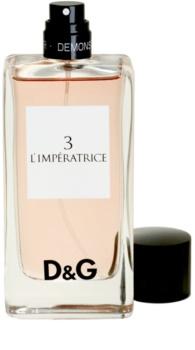 63b523ccf88 Dolce   Gabbana D G Anthology L Imperatrice 3 Eau de Toilette tester for  Women 100