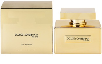 1bb39e2f9727 Dolce   Gabbana The One Gold Limited Edition Eau de Parfum for Women 75 ml