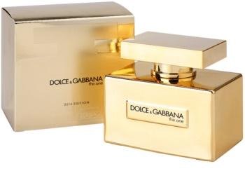 Dolce & Gabbana The One Gold Limited Edition eau de parfum pentru femei 75 ml