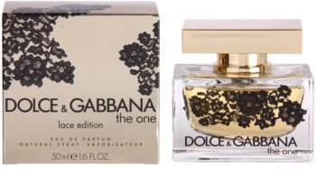 d30960b57 Dolce & Gabbana The One Lace Edition, eau de parfum para mujer 50 ml ...