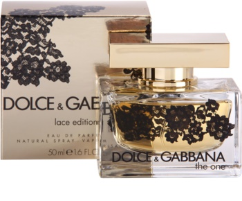 Dolce & Gabbana The One Lace Edition Eau de Parfum για γυναίκες 50 μλ