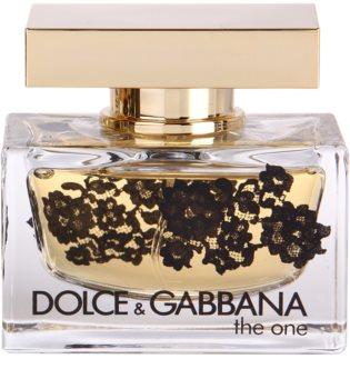 Dolce & Gabbana The One Lace Edition eau de parfum pentru femei 50 ml