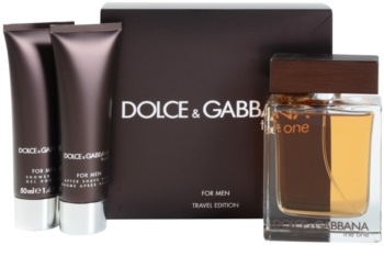 Dolce & Gabbana The One for Men dárková sada V.