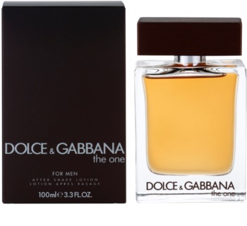 Dolce & Gabbana The One for Men lozione after shave per uomo 100 ml