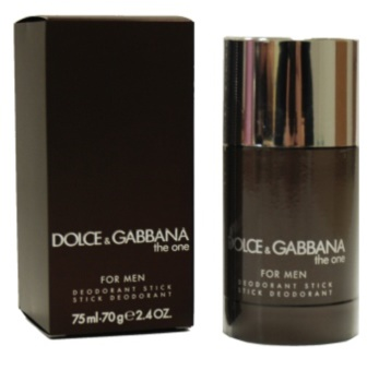 Dolce & Gabbana The One for Men dédorant stick pour homme 75 ml