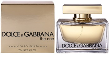Dolce & Gabbana The One eau de parfum per donna 75 ml
