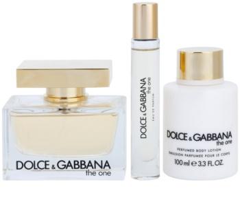 Dolce & Gabbana The One coffret cadeau XI. XI.