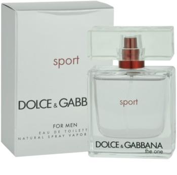 Dolce & Gabbana The One Sport toaletná voda pre mužov 50 ml