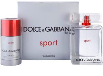 Dolce & Gabbana The One Sport for Men dárková sada VII.