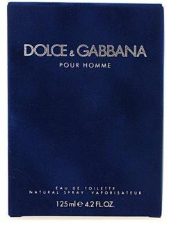 Dolce & Gabbana Pour Homme toaletní voda pro muže 125 ml