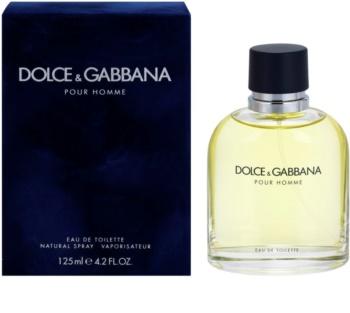 Dolce & Gabbana Pour Homme Eau de Toilette para homens 125 ml