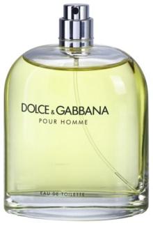 Dolce & Gabbana Pour Homme toaletná voda tester pre mužov 125 ml