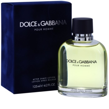 Dolce & Gabbana Pour Homme voda po holení pro muže 125 ml